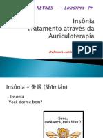 Aula 01 - Insonia e auriculoterapia