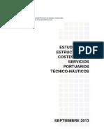 Analisis Estructura Costes Servicios Tecnico Nauticos