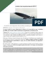Cómo Inutiliza Misil Hipersónico Ruso Un Portaaviones de EEUU