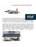 Un Sueño Volador Argentino Llamado Pulqui III