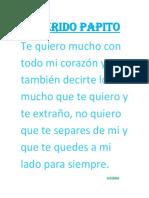Querido Papito