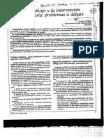 El Psicologo y La Intervencion Comunitaria Apuntes Psicologia 88