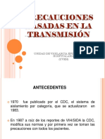 Precauciones Basadas en La Transmisión 2016 (Uveh)