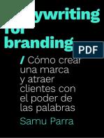 Copywriting for Branding - Extracto