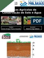 Práticas Agrícolas de Conservação de Solo e Água