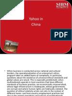 Yahoo in China