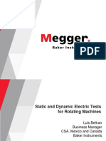 Megger English New Static Dynamic Presentation 2018