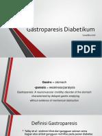 gastroparesis diabetik
