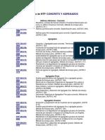 Catálogo de NTP