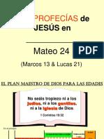 Las Profecias de Jesus