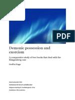 Demonic Possession and Exorcism Klingenberg Case