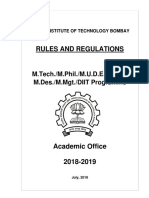 m Tech Rules Update 201806 Sept