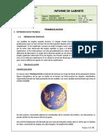 Informe Carreteras diseño Geométrico
