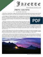 Jacobs University Student Newspaper - Volume II. Issue 1.