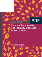 Cristina Miguel - Personal Relationships and Intimacy in the Age of Social Media-Springer International Publishing,Palgrave Pivot (2018)