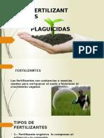 Plagicidas y Fertilizantes