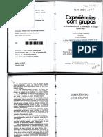 Bion, W. F. Experiências Com Grupos