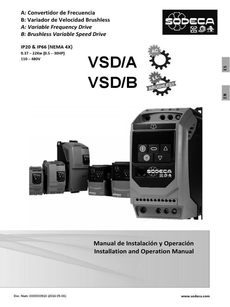 potenci/ómetro de 10k de montaje de pantalla VFD VSD for accionamiento de velocidad variable Invertir Potenci/ómetro