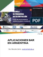 Aplicaciones SAR Argentina CELFI 2018-09-12