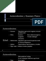 Antecedentes y Examen Físico SEMIO 2