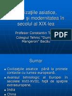 Civilizatiile Asiaticeafricane Si Modernitatea in Secolul Al Xixlea