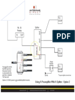 Using a Preamplifier With a Splitter Opt2