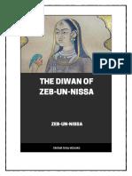 Diwan of Zeb Un Nissa