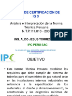 Analisis e Interpretacion de La Ntp 111.010