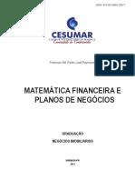 1262matemática Financeira e Planos de Negócios