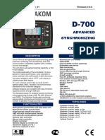d700 User Manual
