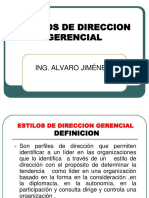 Estilos de Direccion