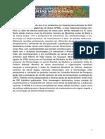 Anais Do XXIII Simpósio de Plantas Medicinais Do Brasil