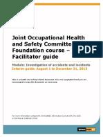 Jhsc Investigations Facilitator PDF En