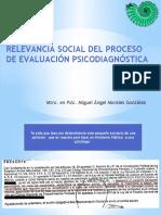 2 Relevancia Social Del Proceso de Evaluacion Psicodiagnostica