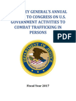 Attorney General TIP Report FY2017