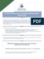 Us Gaap Reglas de Valuacion Presentacion Revelacion Curso 12