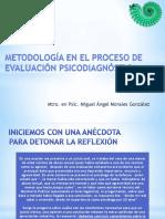 3 Metodología en El Proceso de Evaluación Psicodiagnóstica