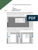 Tutorial Desain Web Menggunakan Aplikasi Photoshop Dan Dreamwhever