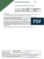 258 Docetaxel Carboplatin and Trastuzumab Tch 21 Days