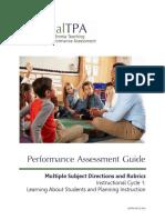 CalTPA C1 AssessmentGuide MS