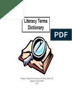 Anders, Marsha a. & Ferrari, Sharon M. - Literacy Terms Dictionary