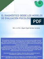1 El Diagnóstico Desde Los Modelos de Evaluación Psicológica