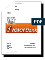 Corporate Banking of Icici