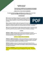 Acuerdo 40 de 2017