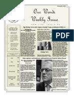 Newsletter Volume 10 Issue 05