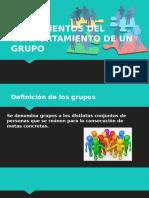 Fundamentos Del Comportamiento de Un Grupo