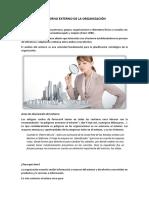 Monografia--Entorno Externo de La Organización