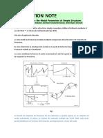 Cómo Determinar Los Parámetros Modales de Estructuras Simples Bruel&Kjer
