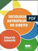 301008084 Sociologia e Antropologia Do Direito Eduardo Iamundo