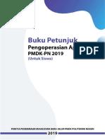 Panduan Siswa PMDK 2019